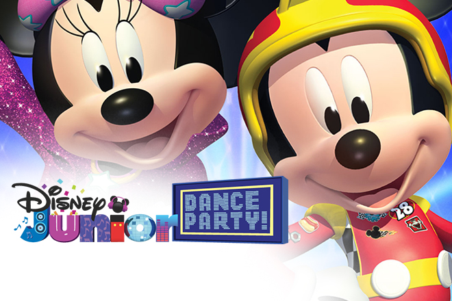 Disney Junior Dance Party on Tour | Mayo Performing Arts ...