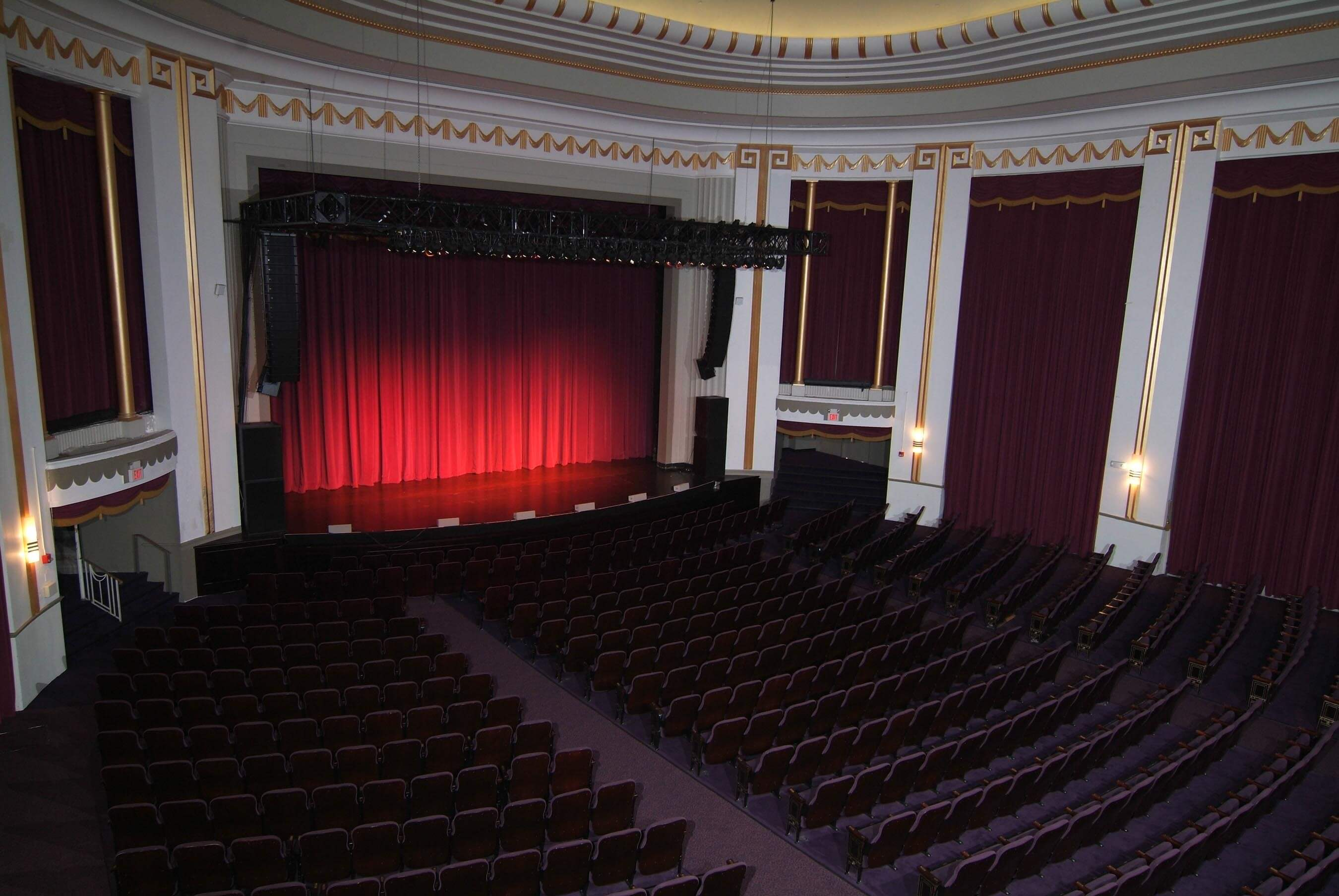 MPAC Stage Balcony Side