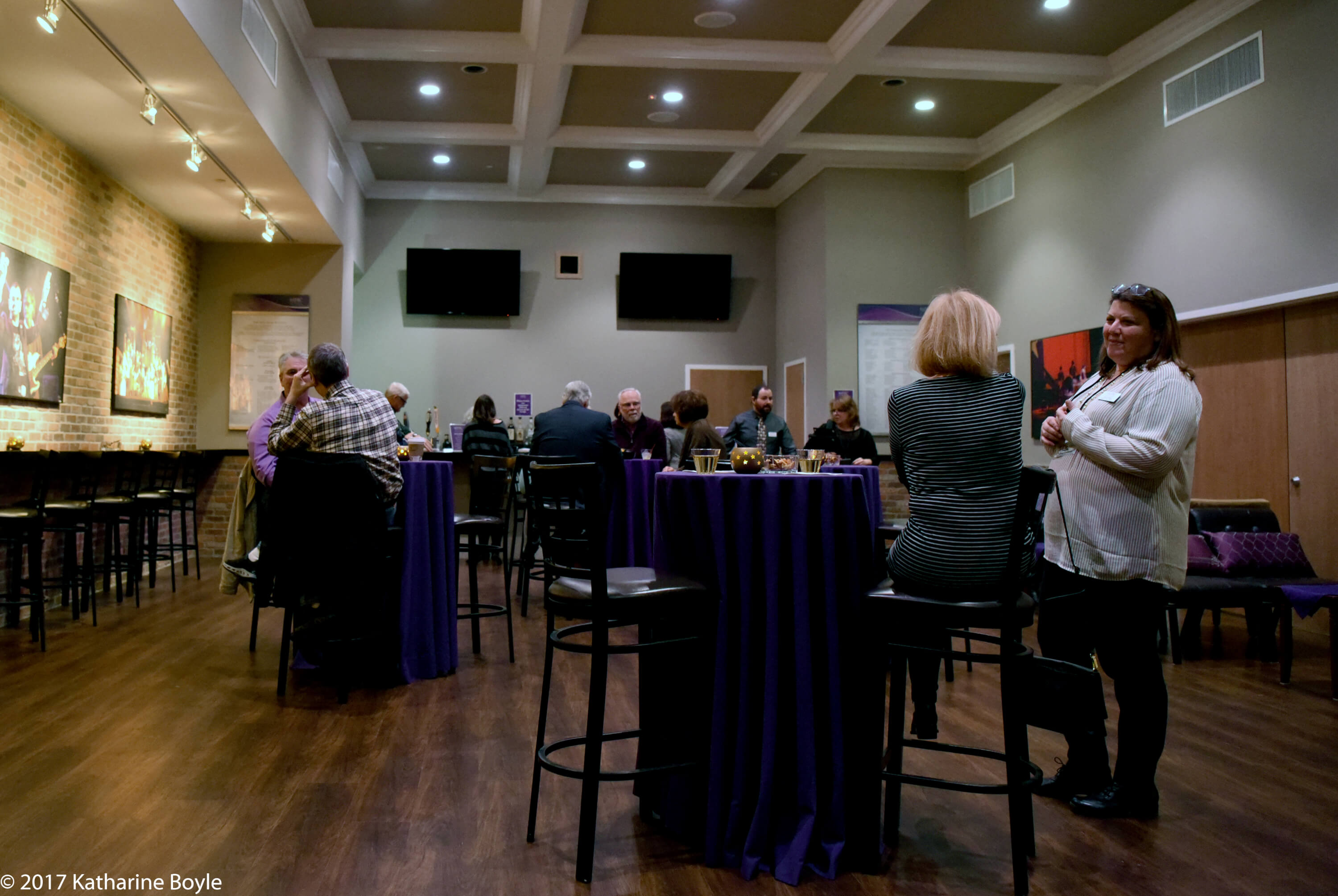 MPAC Starlight Lounge - February 2017 - Tables