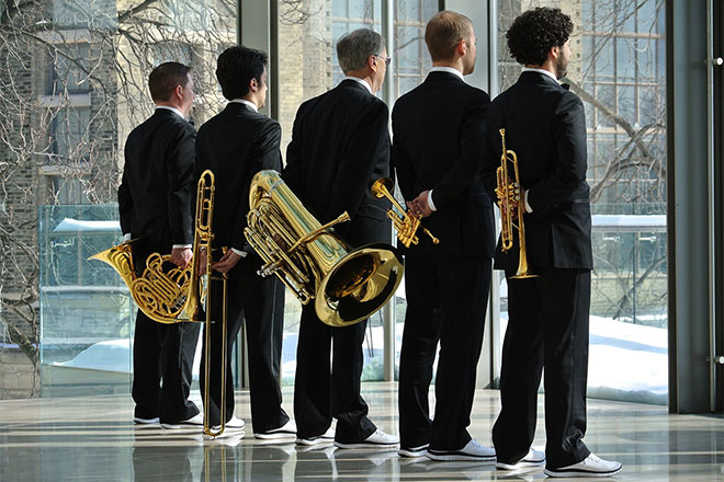 Canadian Brass Holiday Concert