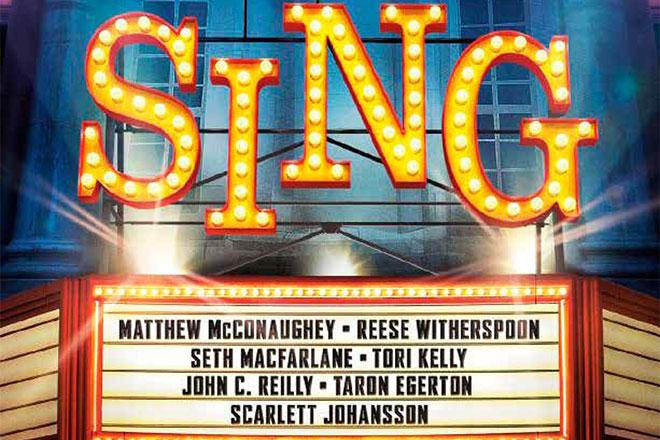 Free Summer Movie: Sing!