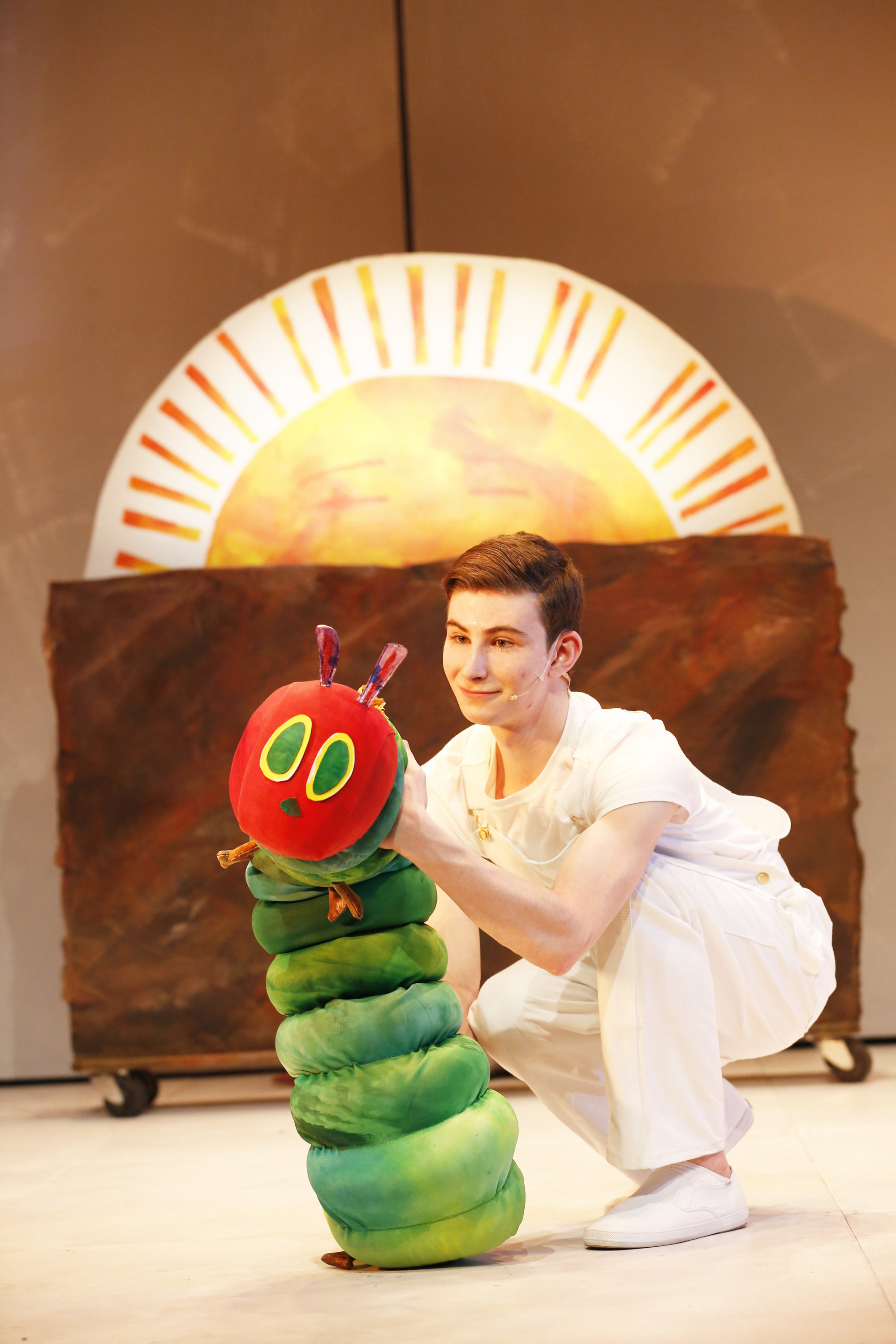 The Really Big Pix Collection Of Famous Mustaches: The Very Hungry Caterpillar Show