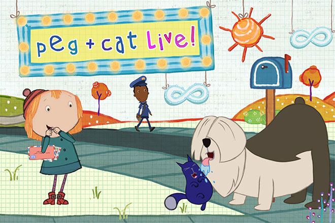 Peg + Cat Live! (Field Trip Show)