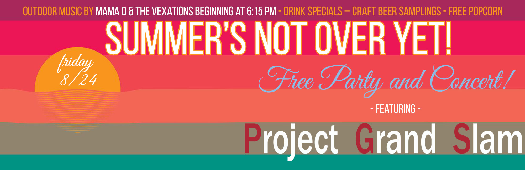 Free Summer Event: Project Grand Slam