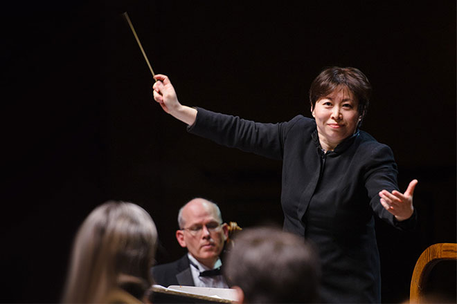 New Jersey Symphony Orchestra:  Zhang Conducts Brahms 4