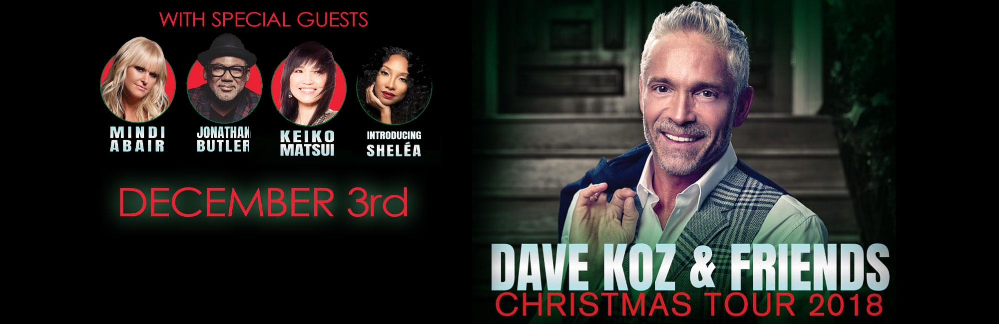 Dave Koz & Friends Christmas Tour 2018