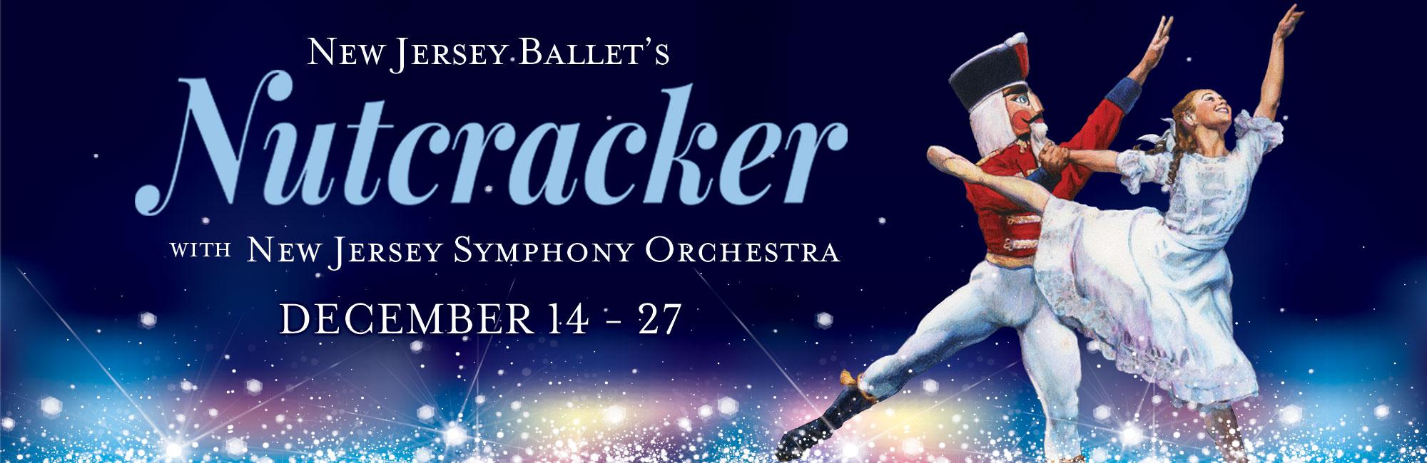 New Jersey Ballet's Nutcracker with New Jersey Symphony Orchestra