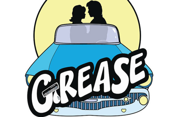 Grease Logo Bluecar