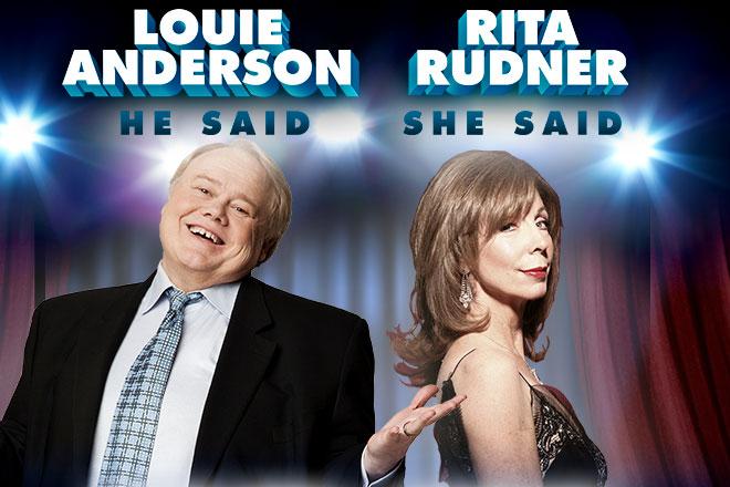 Louie Anderson and Rita Rudner | Mayo Performing Arts Center